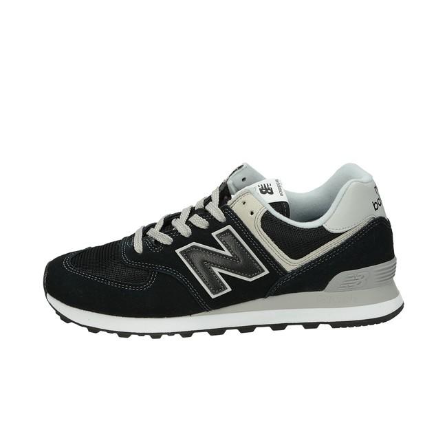 ... New Balance pánske semišové tenisky - čierne ... 82e94642a46