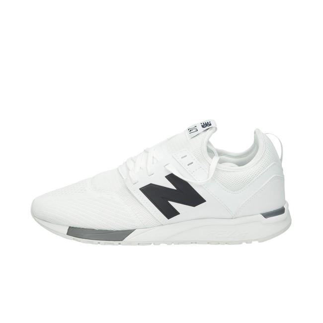 ... New Balance pánske textilné tenisky - biele ... 4285b00c638