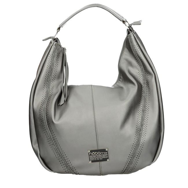 Nóbo dámska elegantná kabelka - strieborná Nóbo dámska elegantná kabelka -  strieborná ... 3f1472899f2