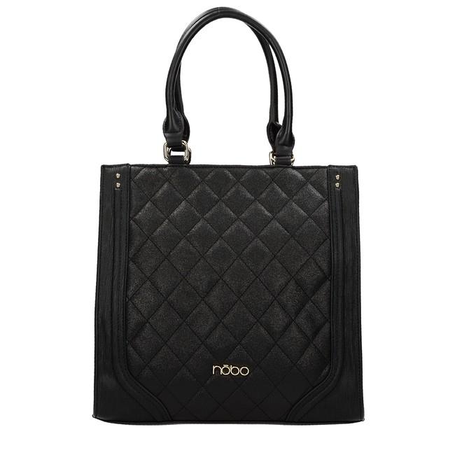 Nóbo dámska štýlová kabelka - čierna 4b715d0c8b8