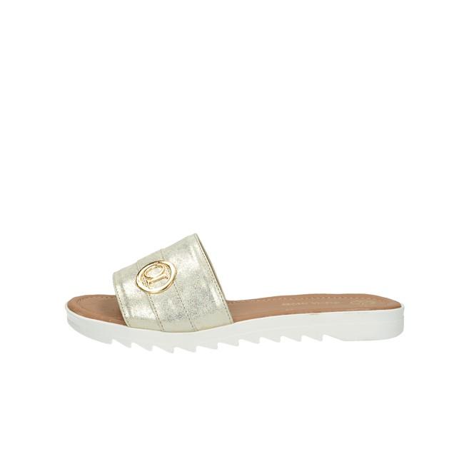 3c5276b57856 ... Olivia shoes dámske elegantné šľapky - strieborné ...