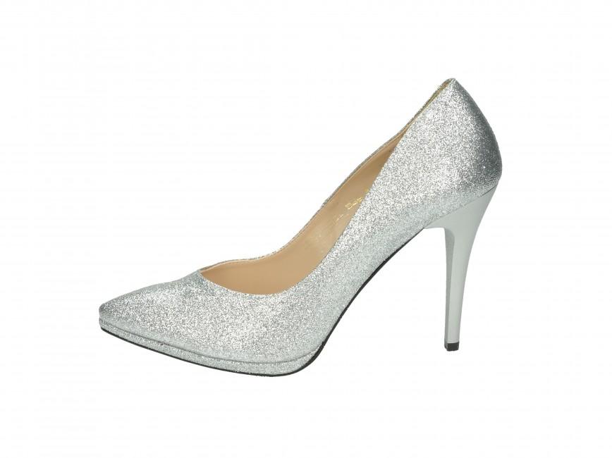 0b67e706c1 Olivia shoes dámske lodičky - strieborné ...