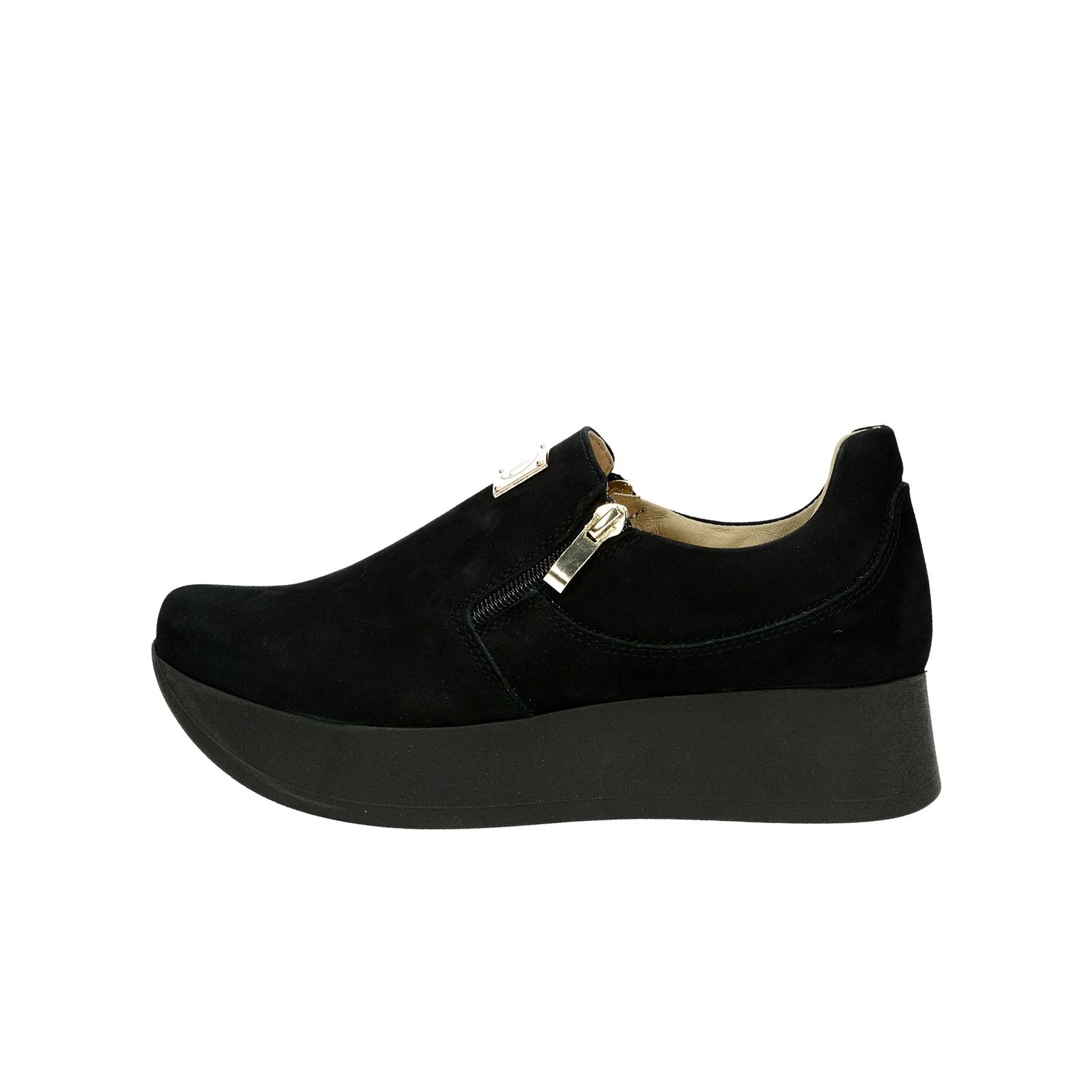 2a40a746f5 ... Olivia shoes dámske nubukové poltopánky na platforme - čierne ...
