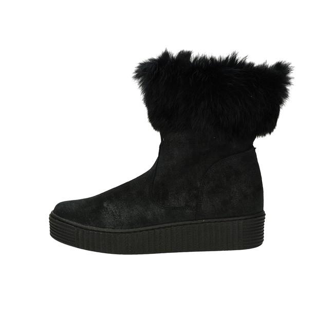 ... Olivia shoes dámske pohodlné nízke čižmy - čierne ... 303ca18a93e