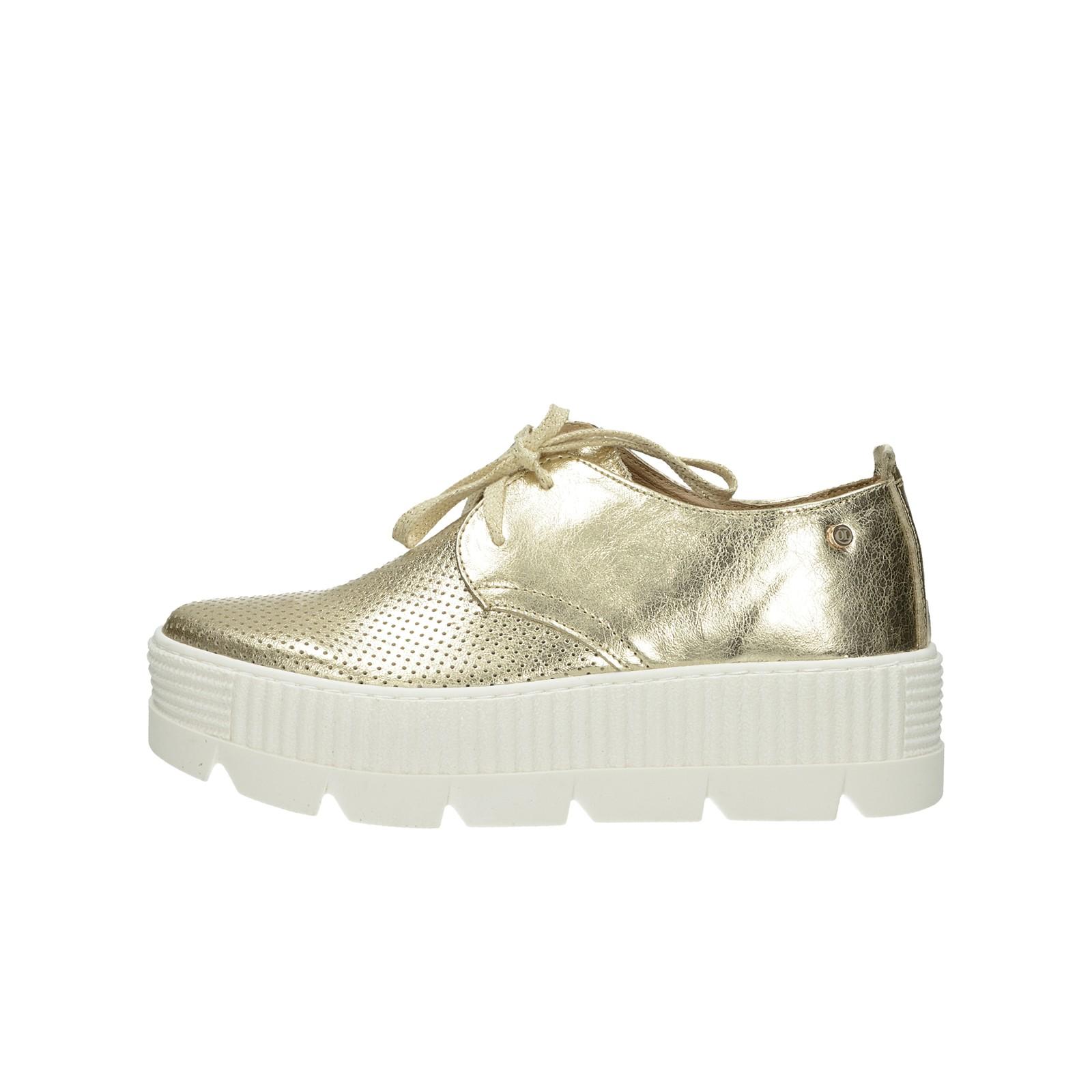 c69fd0674815 ... Olivia shoes dámske štýlové poltopánky na platforme - zlaté ...