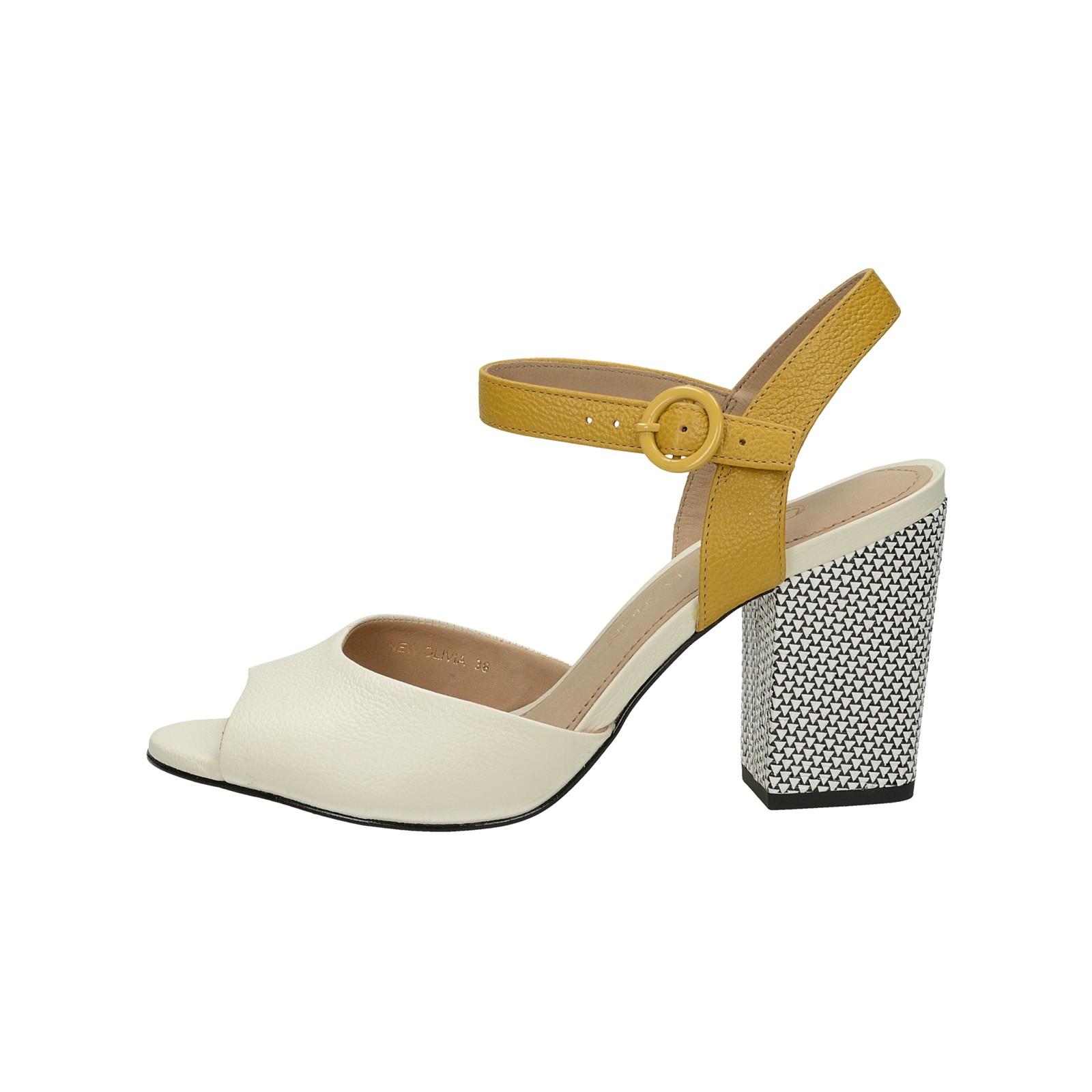 ... Olivia shoes dámske štýlové sandále s remienkom - béžové ... c2339a17aac