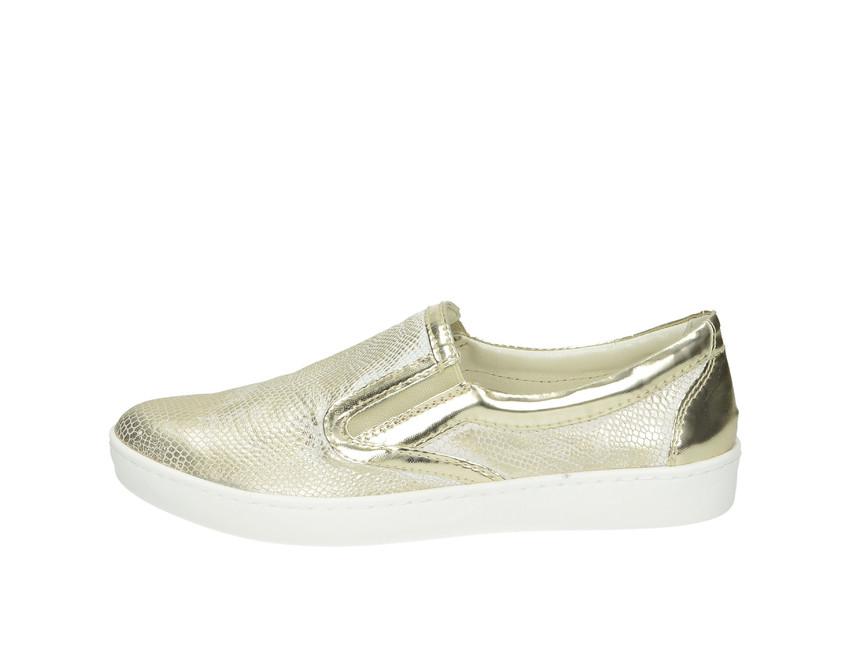 eb71ad342cfc ... Olivia shoes dámske slip-on tenisky - zlaté ...