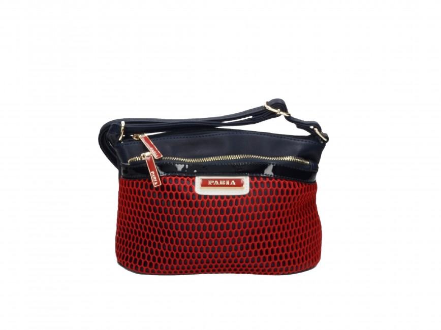 Pabia dámska kabelka - červenomodrá ... 122101a2c01