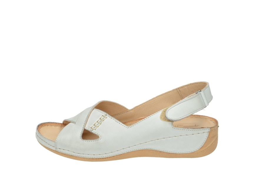 Pollonus dámske sandále - biele 5b9f9ecb67f