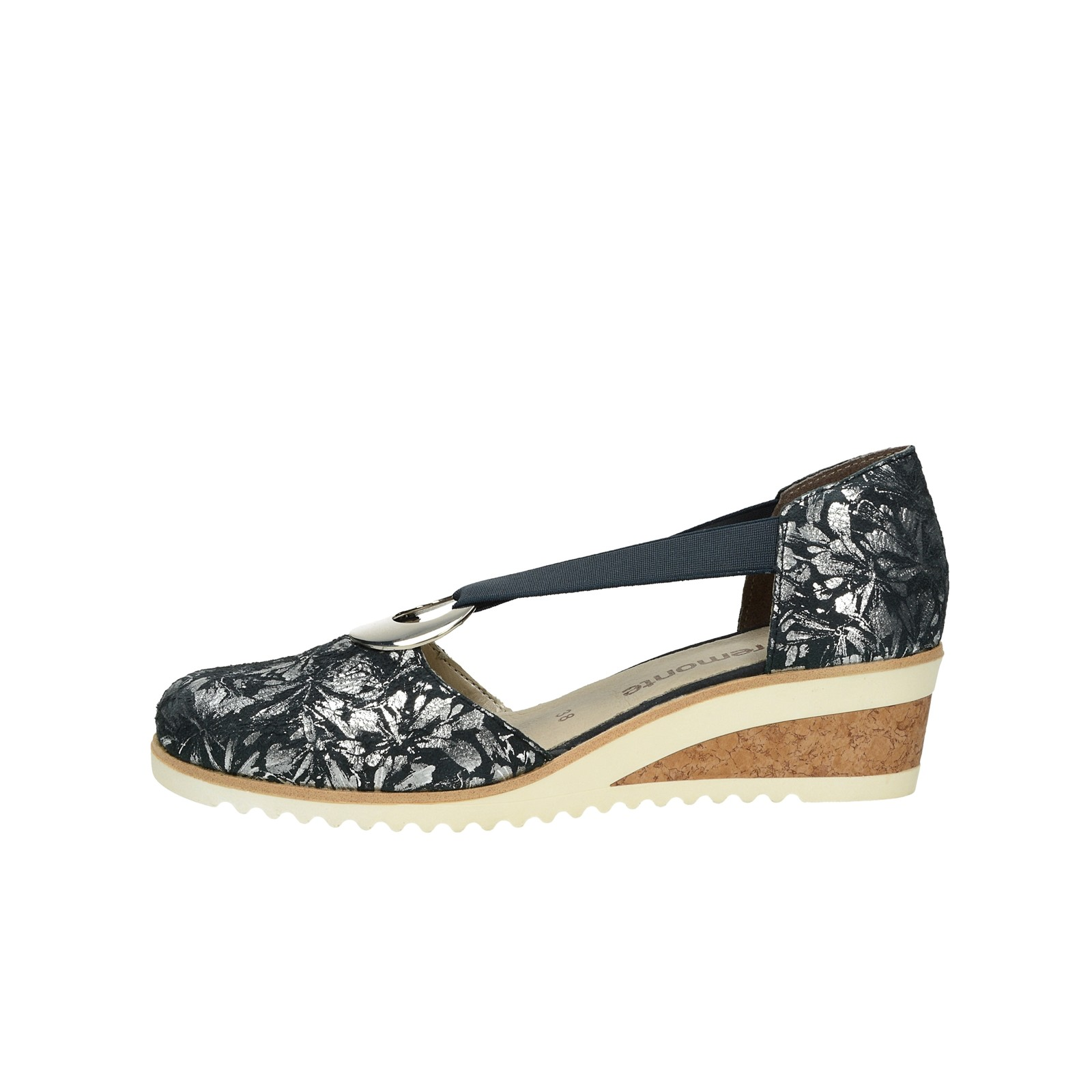 0d06f00b28ca ... Remonte dámske štýlové sandále s uzatvorenou pätou - tmavomodré ...