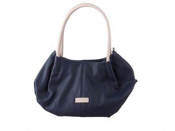 Tamaris dámska veľká tvarovaná kabelka - modrá
