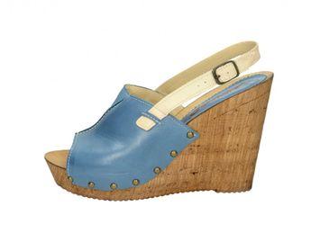Acord dámske sandále - modré