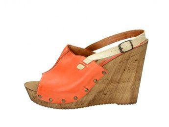 Acord dámske sandále - oranžové
