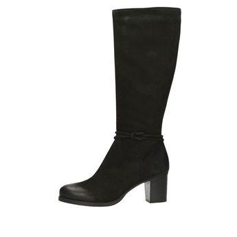 Acord dámske vysoké čižmy - čierne