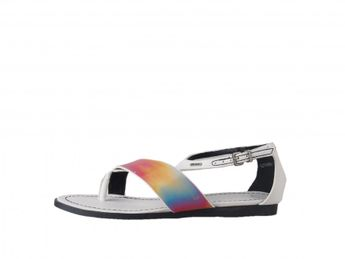 Big Star dámske biele sandále