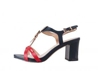 Big Star dámske sandále - modročervené