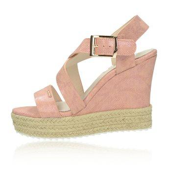 Big Star dámske sandále - ružové