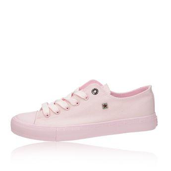 Big Star dámske štýlové textilné tenisky - ružové