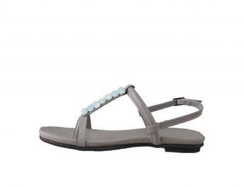 Bugatti dámske šedé sandálky