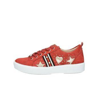 Bugatti dámske semišové tenisky - červené