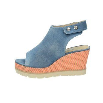 Bugatti dámske štýlové sandále - modré