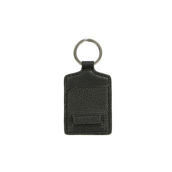 Bugatti pánska kožená kľúčenka - čierná