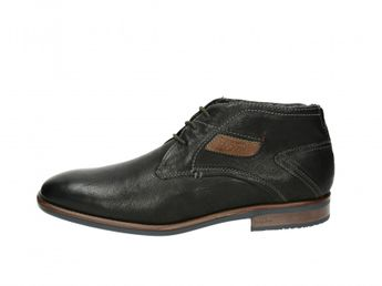 Bugatti pánske čierne zateplené topánky