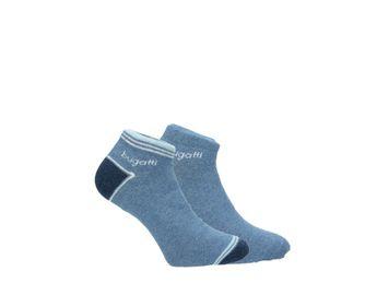 Bugatti pánske členkové ponožky - vzorované