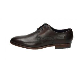 Bugatti pánske hnedé elegantné topánky