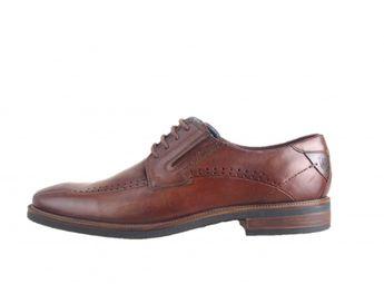 Bugatti pánske hnedé pohodlné spoločenské topánky