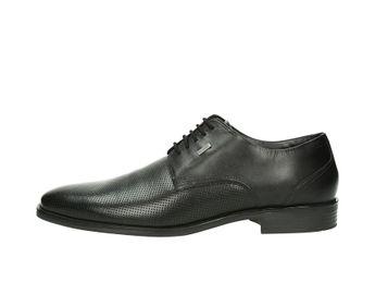 Bugatti pánske kožené topánky - čierne