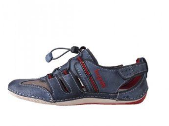 Bugatti pánske modré sandále