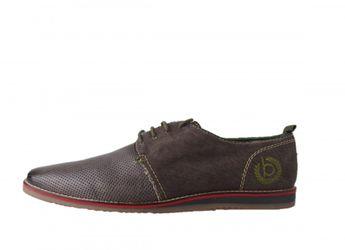 Bugatti pánske letné topánky - hnedé