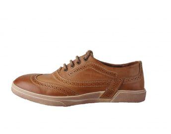 Bugatti pánske topánky - hnedé