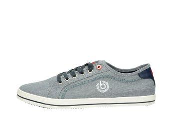 Bugatti pánske textilné tenisky - šedé