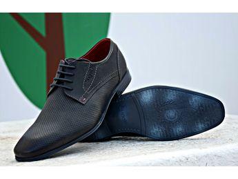 Bugatti pánske topánky - šedé