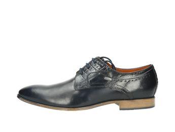 Bugatti pánske topánky - tmavomodré