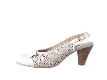 Caprice dámske biele sandále