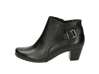 Caprice dámske kotníky - čierne