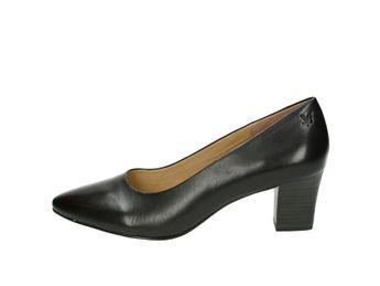 Caprice dámske lodičky - čierne