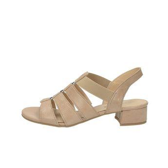 Caprice dámske štýlové sandále - béžové