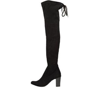 Caprice dámske vysoké čižmy - čierne