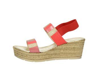 Cerutti dámske sandále - červené