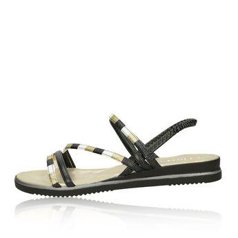 Cerutti dámske sandále - čiernozlaté