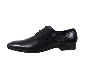 Bugatti spoločenské topánky - čierne