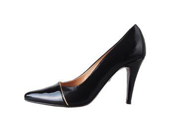 Classico & Bellezza dámske čierne lodičky