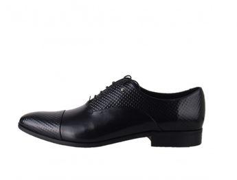 Conhpol pánske čierne spoločenské topánky