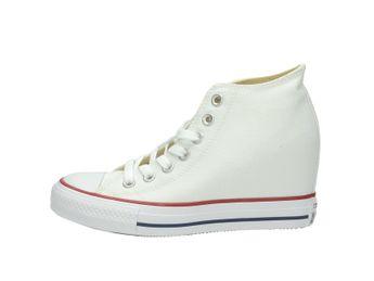 Converse dámske tenisky na klinovej podošve - biele