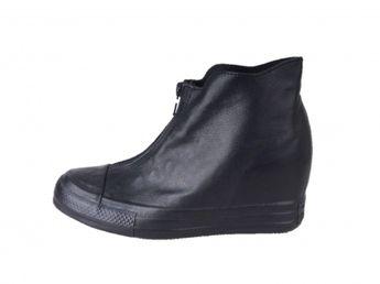 Converse dámske kožené tenisky - čierne