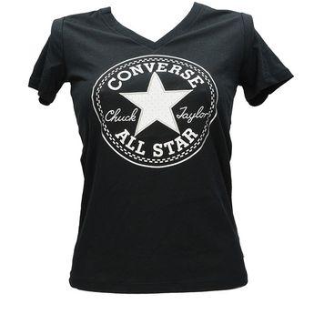 Converse dámske tričko - čierne